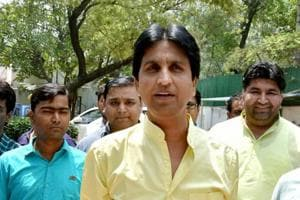 The Aam Aadmi Party (AAP) on Wednesday removed Kumar Vishwas as the in charge of its unit in Rajasthan, replacing him with Deepak Bajpai.