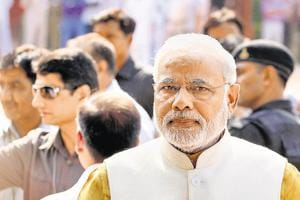 "Prime Minister Narendra Modi will observe a day-long fast on April 12, as a mark of protest against what the BJP terms the ""Congress's obstructionist politics"" during the second half of the budget session of Parliament."