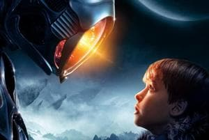 The clunky robot is the most interesting character in Lost in Space, Netflix's big-budget space adventure about a family stranded on a strange planet.