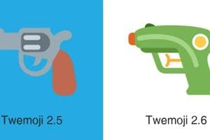 Twitter replaces pistol emoji with water gun