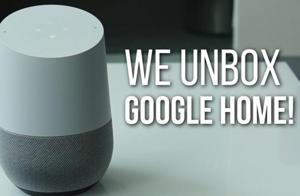 We unbox Google Home!