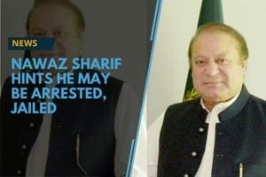 Former Pakistani PM Nawaz Sharif has hinted that the authorities might...