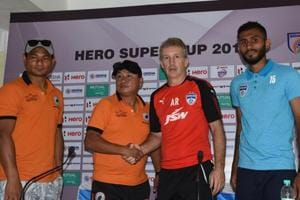 Neroca FC will face Bengaluru FC in the Super Cup quarterfinals on Thursday.
