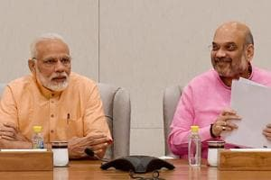Live:PMNarendra Modi to join BJPleaders' one-day fast to protest...