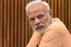 Prime Minister Narendra Modi arrived in Chennai on Thursday.