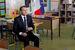 France President Macron says has 'proof' of Syrian chemical attack,...
