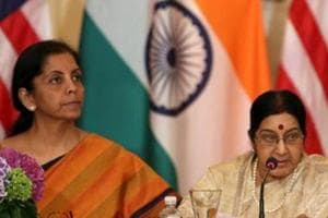 Sushma, Sitharaman scheduled to be in Beijing on same day on April 24