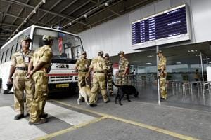 Passenger held with 10 live bullets at Delhi's Indira Gandhi airport