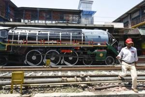 Photos: For 63rd Railway Week, a trip to the steam era with Azad in...