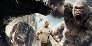 Giant creatures smash things: Rashid Irani reviews Rampage