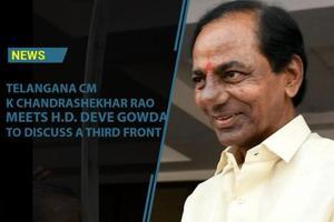 Telangana Chief Minister, K Chandrashekhar Rao is on a three day visit...