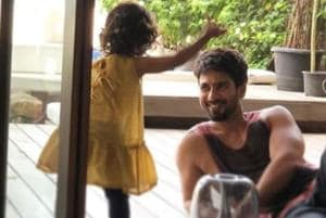 It's playtime for Misha and father Shahid Kapoor couldn't be happier....