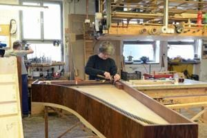 This man is recreating pianos played by Mozart and Chopin in Czech...