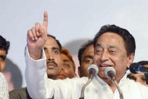 Chopper carrying Congress leader Kamal Nath loses way, lands safely...