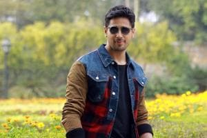 Actor Sidharth Malhotra says it took a lot of struggle before he bagged his first film, Student of the Year (2012).