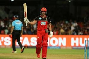 IPL 2018: AB de Villiers' 23rd fifty give Royal...