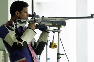 2018 Commonwealth Games shooting: Sanjeev Rajput wins gold in men's...