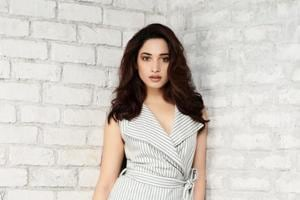 Actor Tamannaah Bhatia is currently shooting for the Telugu remake of the film Queen.