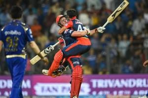 Jason Roy scored an unbeaten 91 to steer Delhi Daredevils past Mumbai Indians in their IPL 2018 match at the Wankhede Stadium in Mumbai on Saturday.
