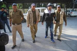 The SIT has so far arrested 20 people, including four sub-divisional magistrate rank officers. (Above) Key accused DP Singh.