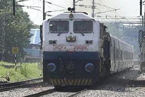 Trains running on the Delhi-Mumbai route can clock up to 130km per hour but rarely run at this speed for a considerable distance because of the possibility of interference on the track.