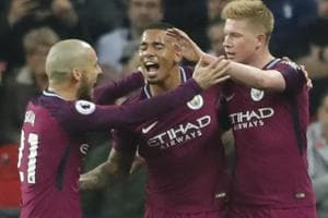 Manchester City crowned Premier League champions as Manchester United...