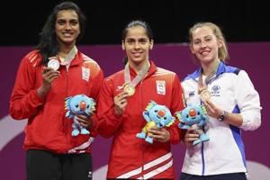 2018 Commonwealth Games: Saina Nehwal wins gold, India finish with 66...