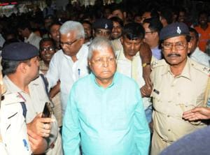 RJD president Lalu Prasad, convicted in four fodder scam cases, could not attend the last rites of his only sister Gangotri Devi, who died in Patna in January, because he could not apply for parole due to shortage of time.