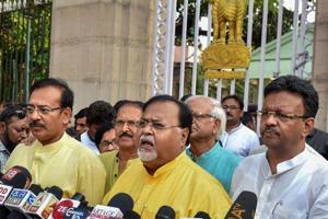 Trinamool, BJP exchange barbs day before court hears Bengal panchayat...