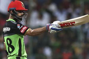 IPL 2018: Virat Kohli hits 31st 50 for Royal Challengers Bangalore vs...