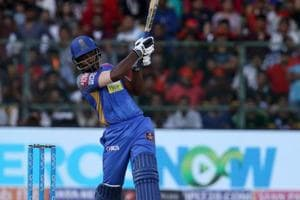 Sanju Samson blasted 92* as Rajasthan Royals defeated Royal Challengers Bangalore by 19 runs for their second win in IPL 2018.