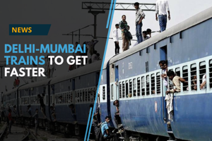 The Delhi-Mumbai train route might get smoother as the central...