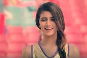 Priya Prakash Varrier winks again, this time for an advertisement