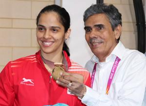 Saina Nehwal said she did not have enough rest for her matches after her father was denied entry into the 2018 Commonwealth Games Village.