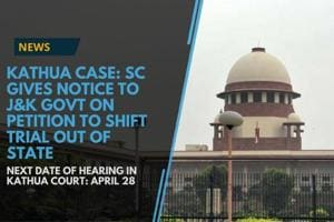 The Supreme Court on Monday issued a notice to the Jammu & Kashmir...