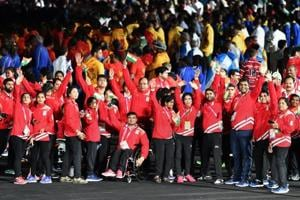 India lay foundation for Tokyo Olympics with big show at 2018...