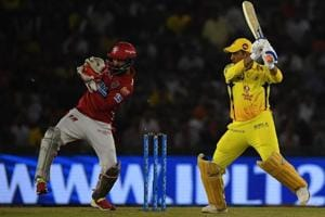Kings XI Punjab wicket keeper KL Rahul (L) revealed the strategy they used to nullify Chennai Super Kings captain MS Dhoni (R) during their 2018 Indian Premier League (IPL 2018) match at the Punjab Cricket Association Stadium in Mohali on April 15, 2018.