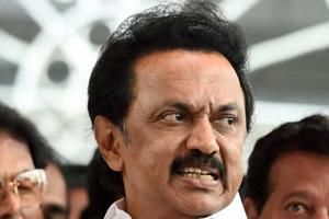 DMK protests in Chennai over dilution of SC/ST Act