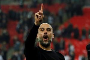 Manchester City manager Pep Guardiola reflected on his team's season...