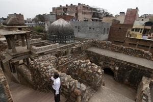 Zafar Mahal in Mehrauli is one of the monuments that historians feel needs immediate restoration.