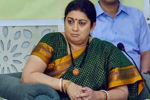 Charge sheet filed against four DU students for 'stalking' Smriti...