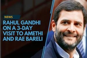 Congress president Rahul Gandhi is on a three day visit to his...