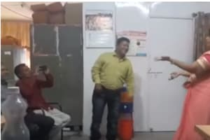 Two government employees suspended for dancing in office in Madhya...
