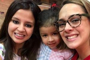 When MS Dhoni's daughter Ziva, Hazel Keech shared 'kissy squishy hugs'...