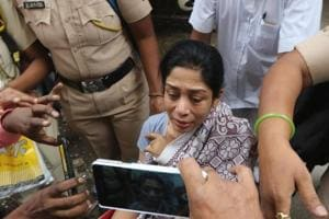 CCTV footage shows Indrani took bag from a man, returned it on Mumbai...