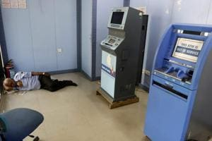 Is ATM cash crunch a logistical issue, or has the problem persisted...