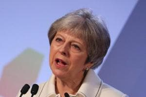 British PM Theresa May says strikes on Syria 'legally and morally...