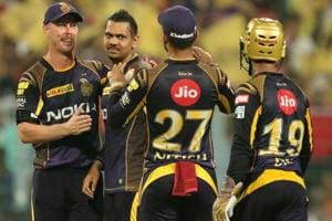 Sunil Narine takes 100th IPL wicket in emphatic win for Kolkata Knight...