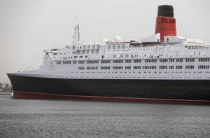 Britain's famed Queen Elizabeth 2 ship is now a floating hotel in...