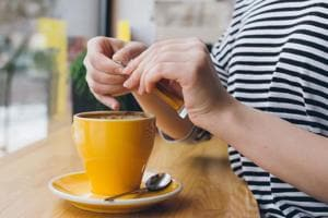 Keep your heart healthy. A single cup of coffee contains about 95 mg of caffeine.